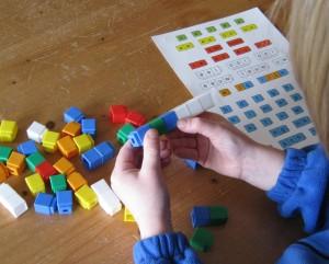 Woorden bouwen Taal in Blokjes